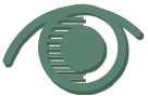 símbolo de um olho estilizado