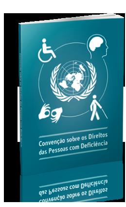 Capa da Publicação com a logo da Organização das Nações Unidadas circundada por ícones de pessoas com deficiência e o título da publicação embaixo.