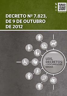 Decreto 7.823, de 9 de Outubro de 2012