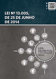 Capa da Lei 13.005, de 25 de Junho de 2014